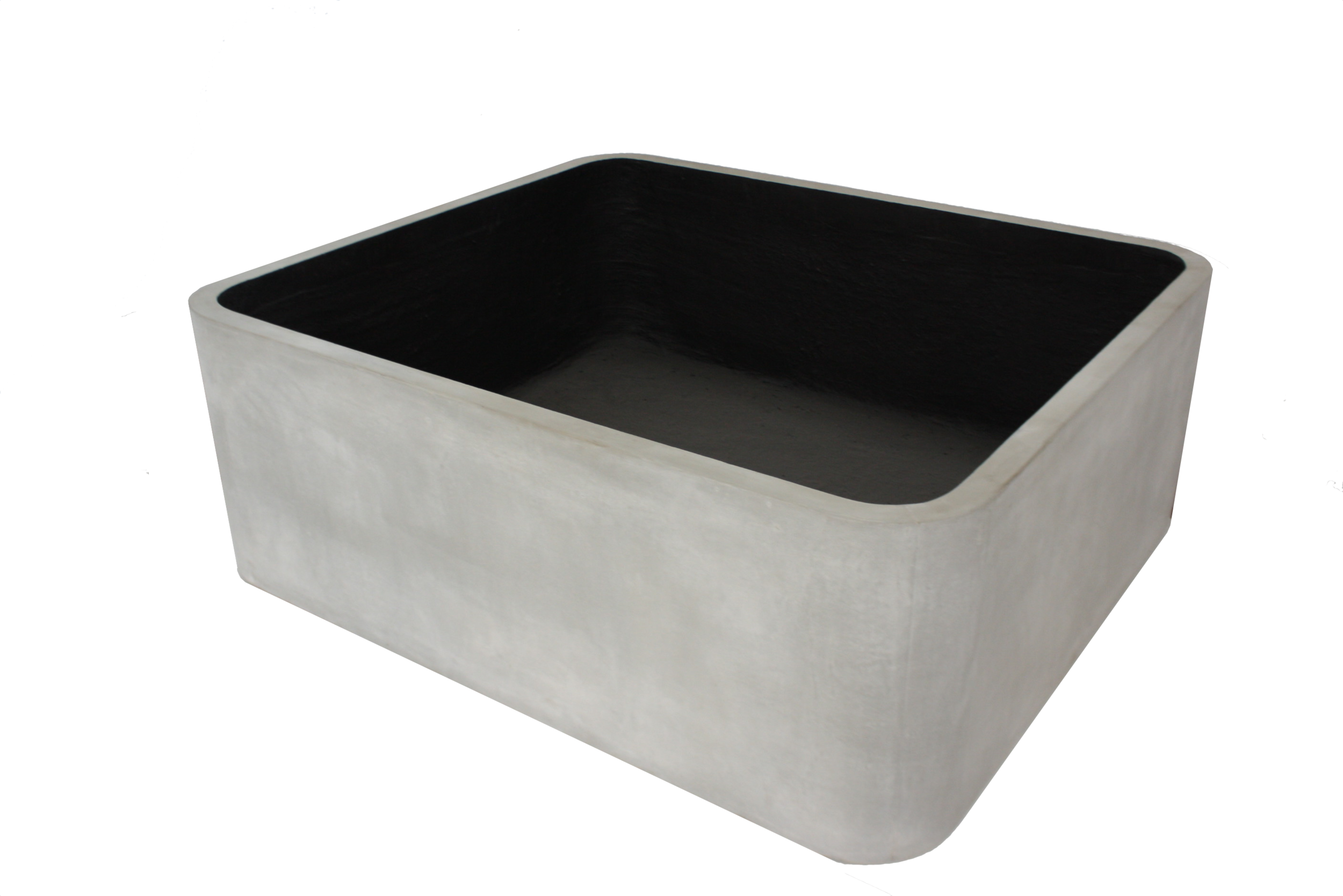Large Rounded Corner Planters