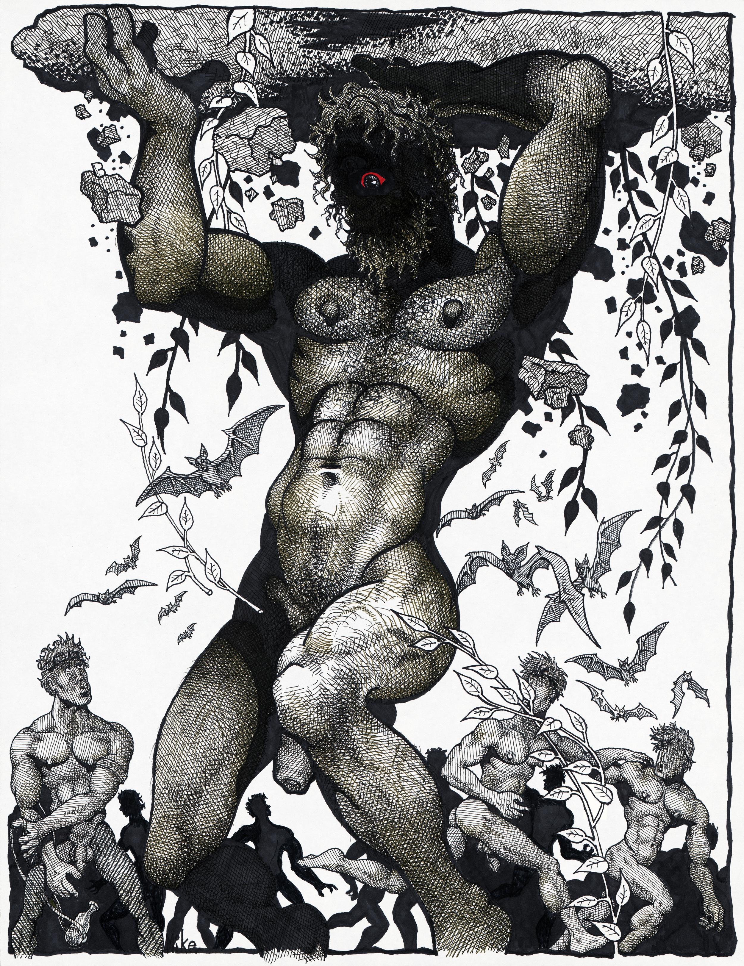 Mike Kuchar,  Myth Men , 1980-1990; © Kuchar Brothers Trust.