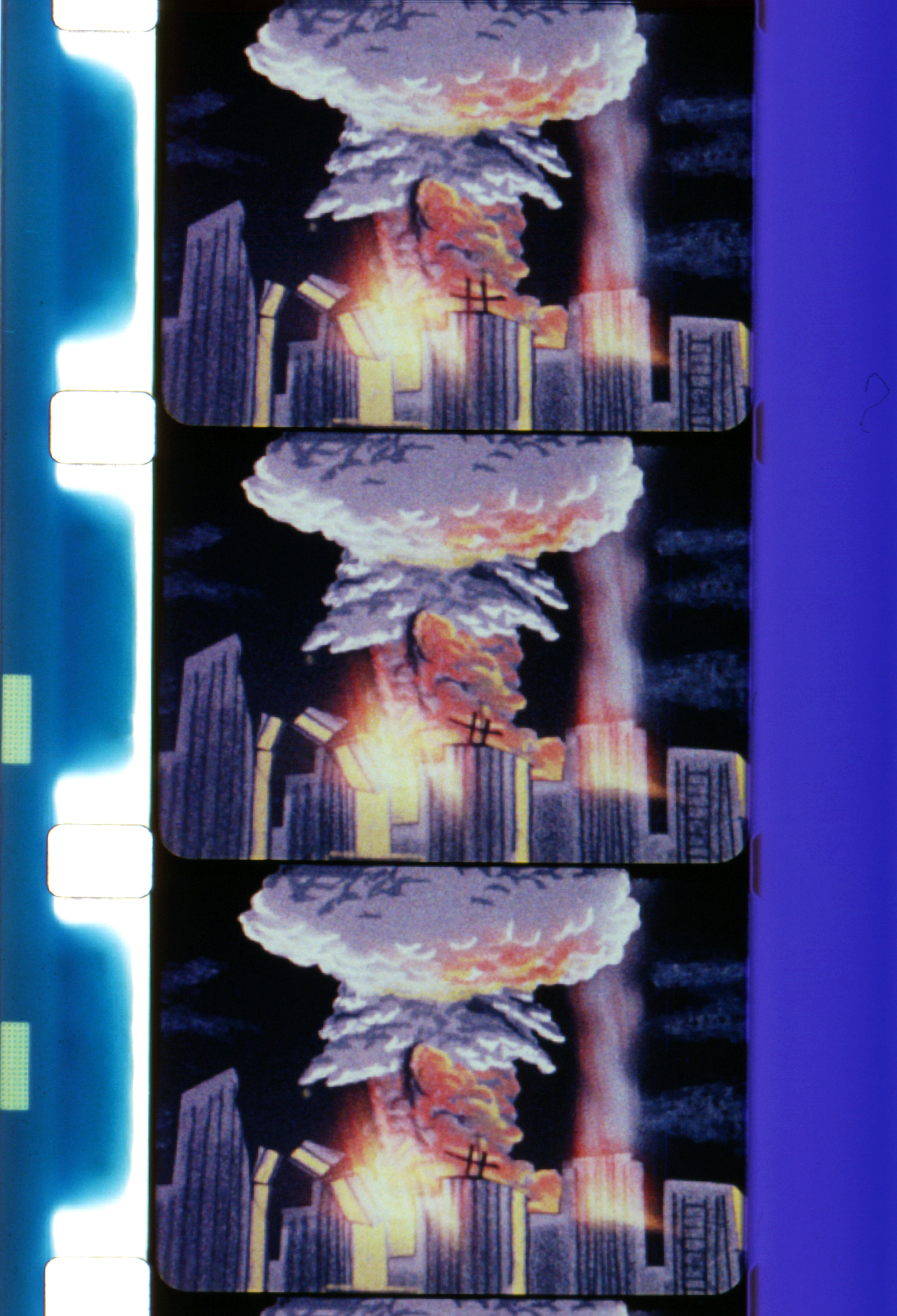 Night of the Bomb  (1962, 8mm, Color, Sound, 18min.); © Kuchar Brothers Trust.
