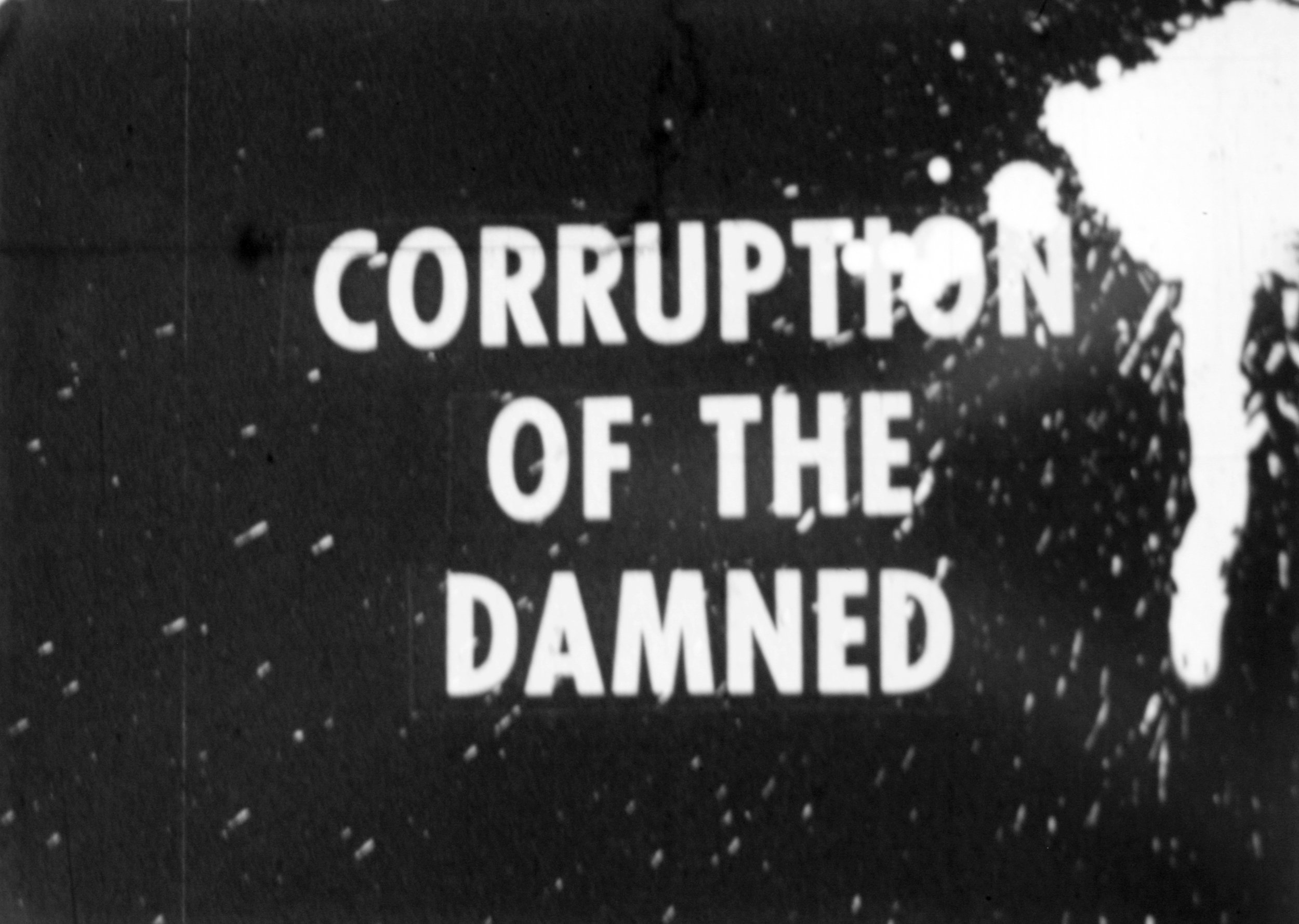 Corruption of the Damned  (1965, 16mm, B&W, Sound, 55min.); © Kuchar Brothers Trust.