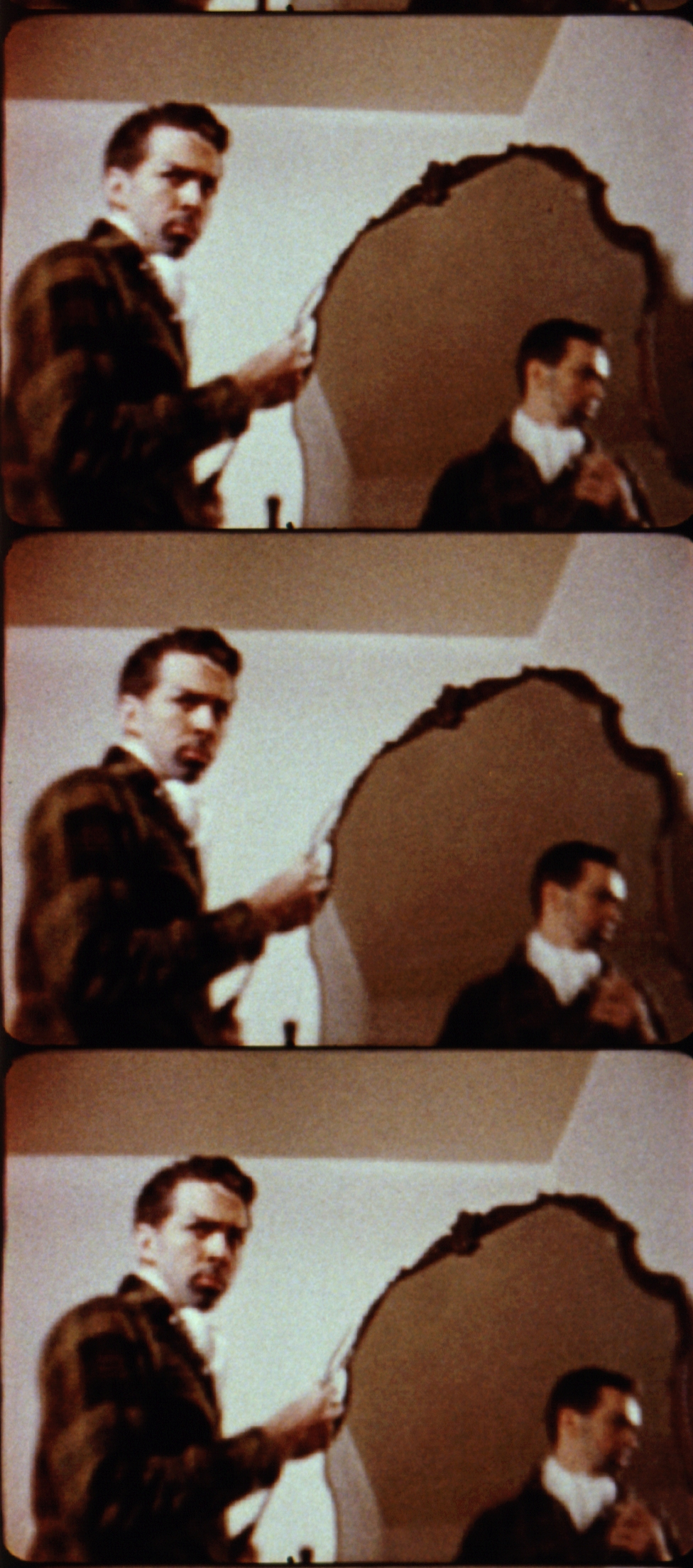 The Thief and the Stripper  (1959, 8mm, Color, Sound, 25min.); © Kuchar Brothers Trust.