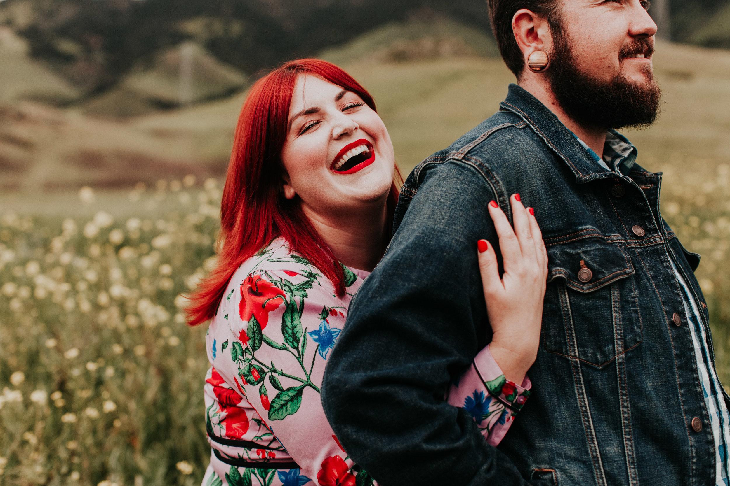 Higuera Ranch engagement couple