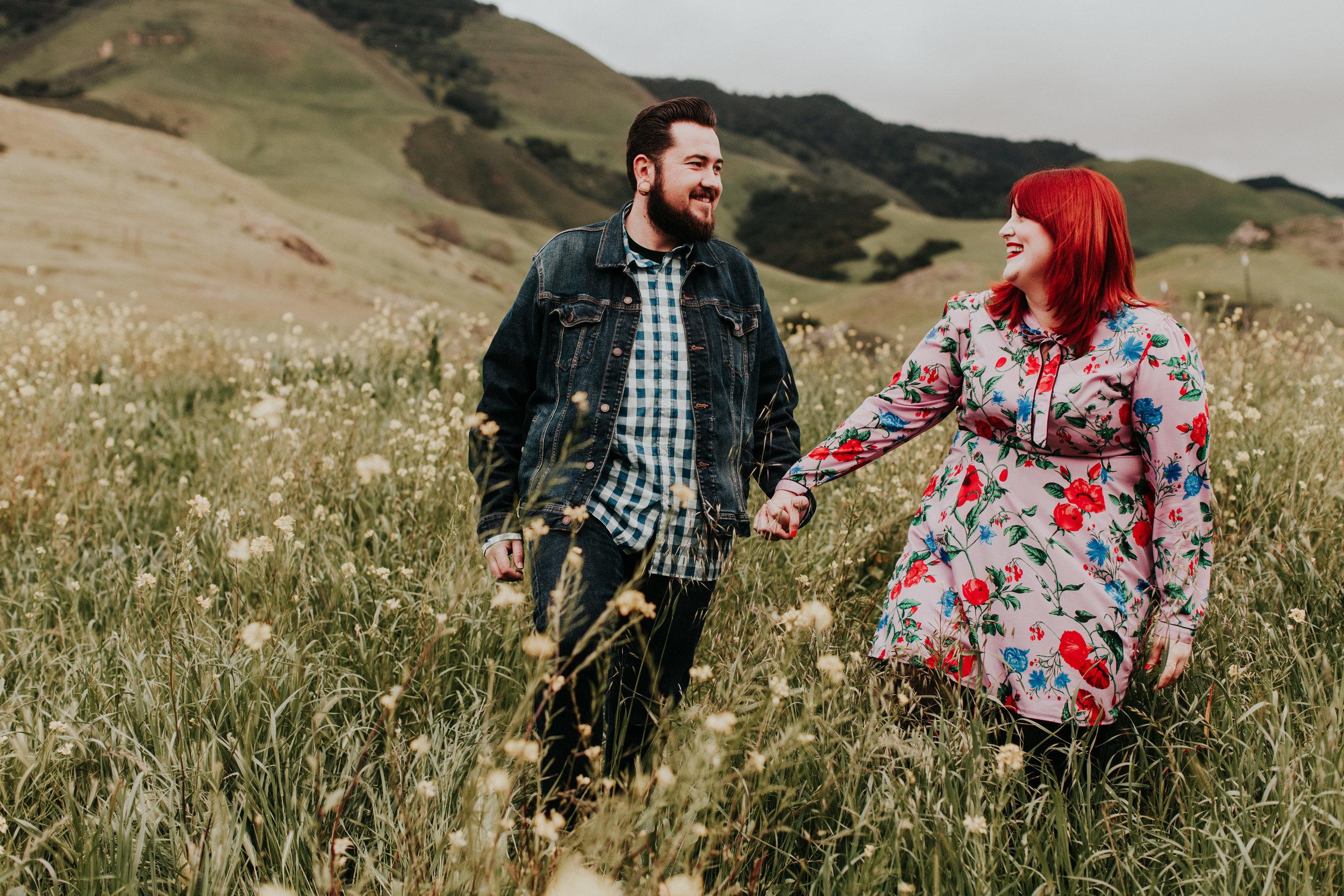 Higuera Ranch engagement wedding