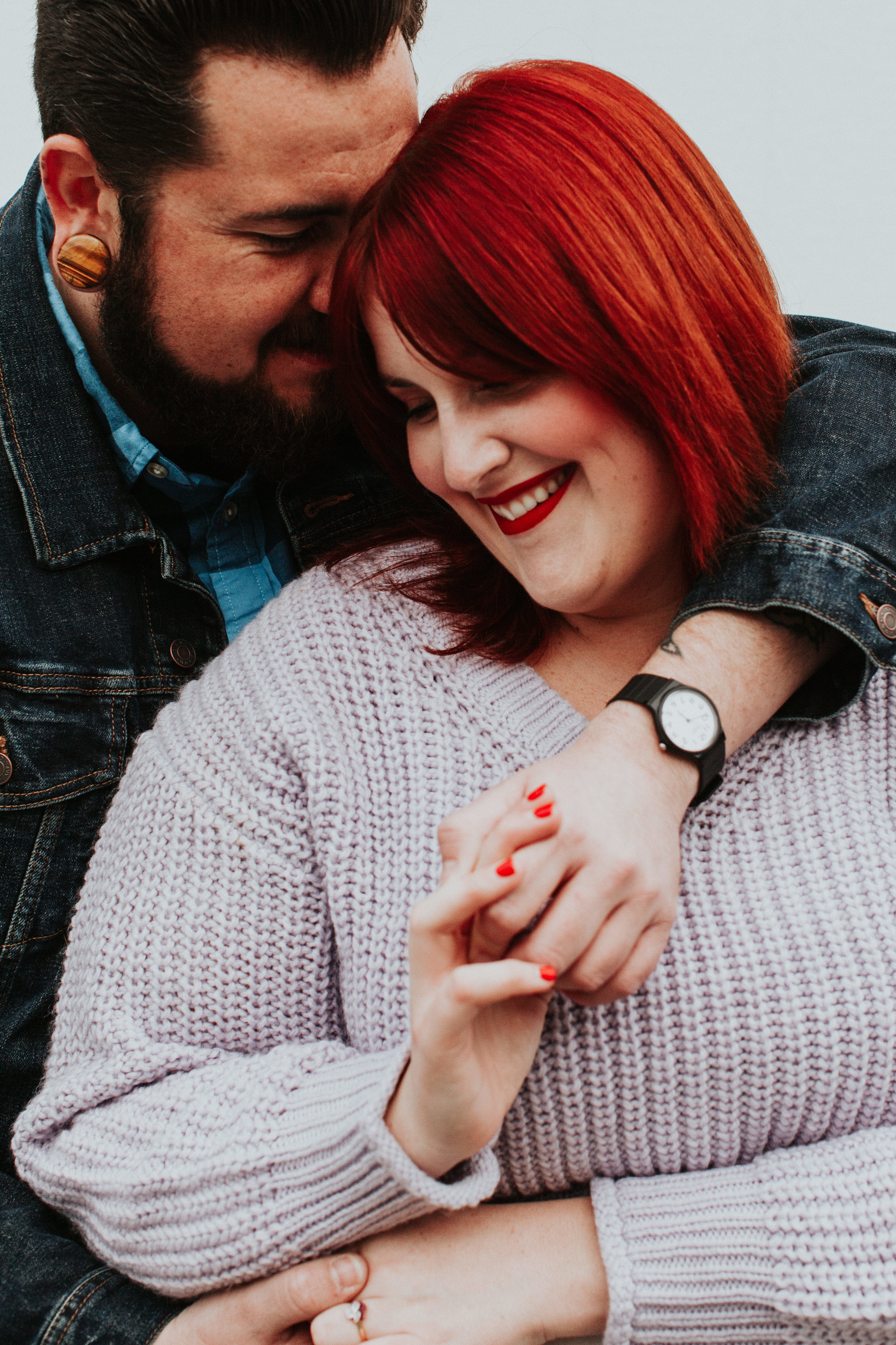 Higuera Ranch engagement couple Free People