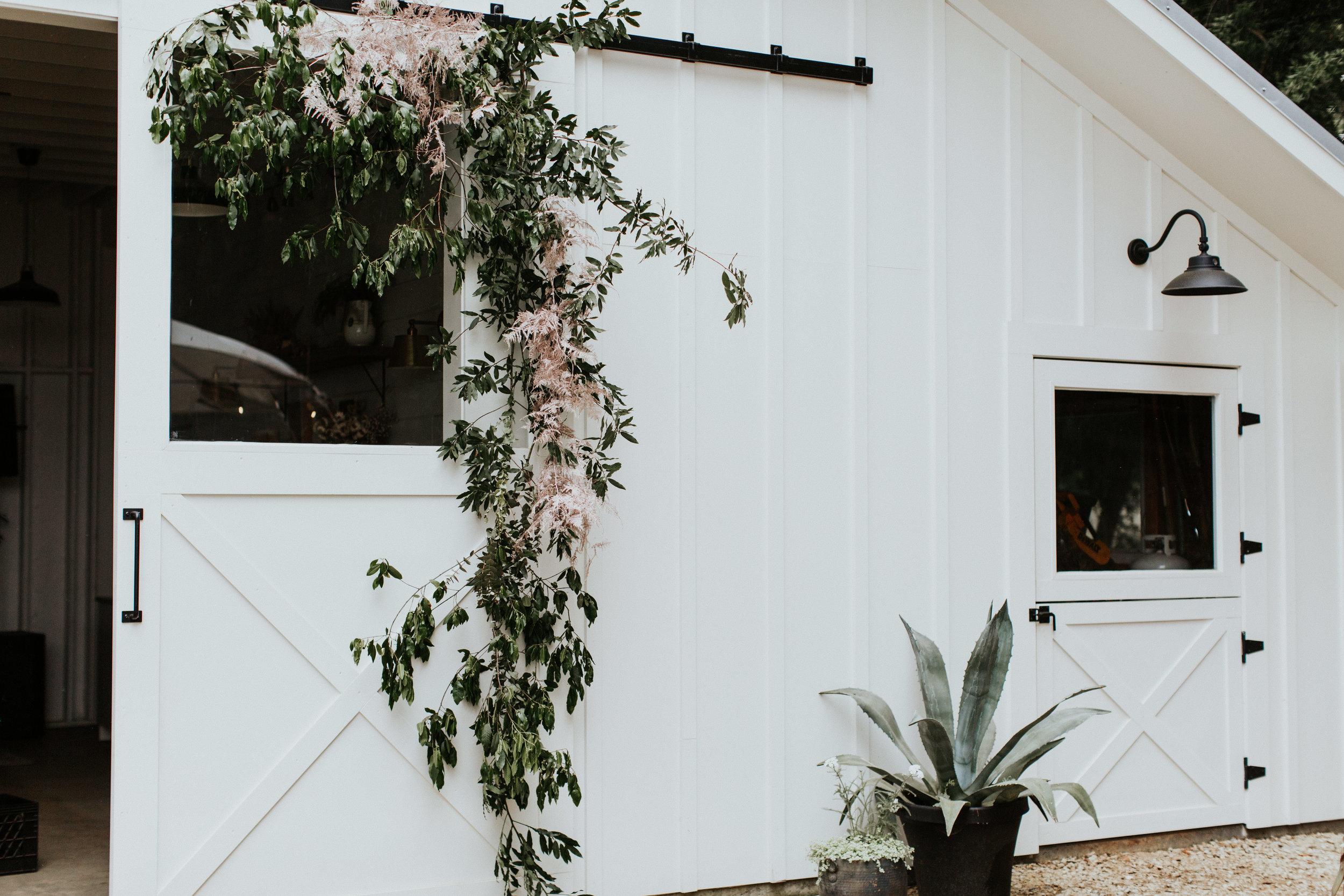 boho glam wedding barn