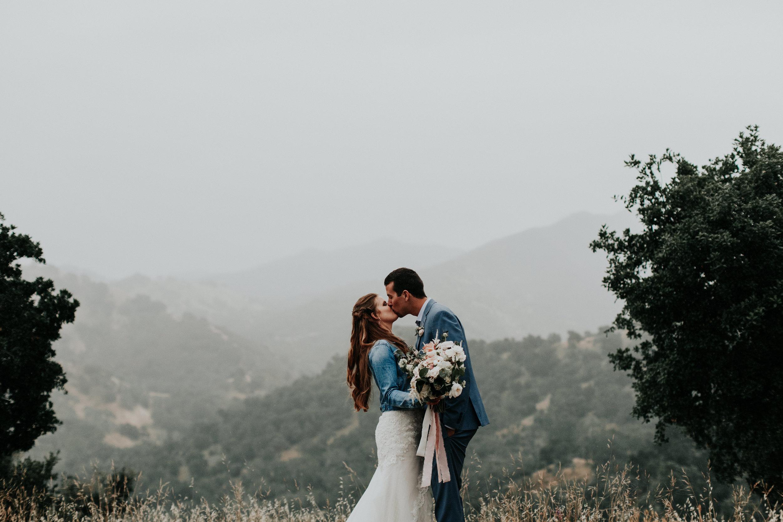 atascadero moody wedding photography