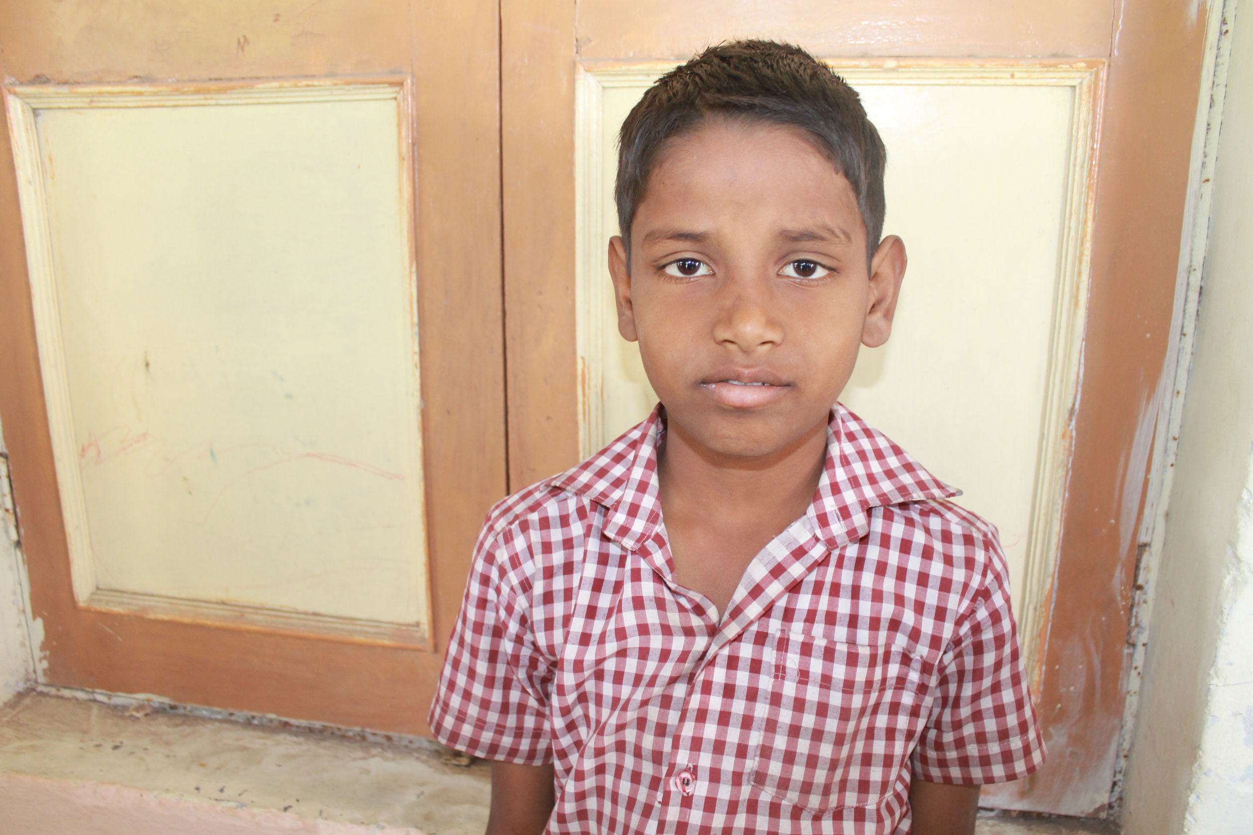 Mahesh, 8 years old
