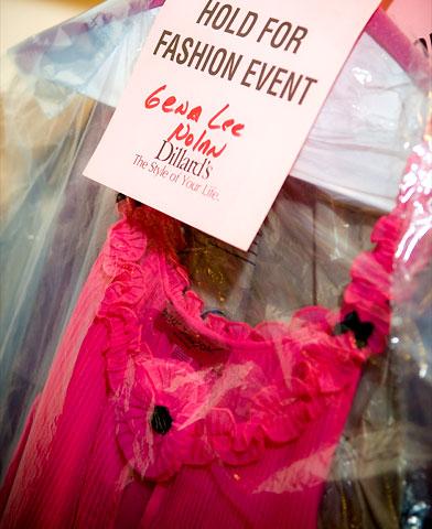 Fashion Show backstage