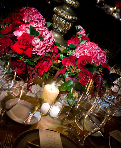 Table-setting photography