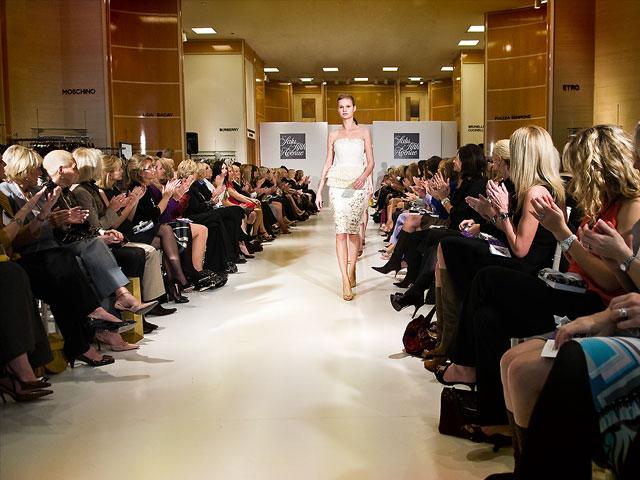 Fashion show at Saks 5th Avenue