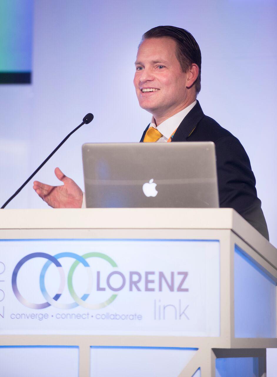 Conference presentation photo
