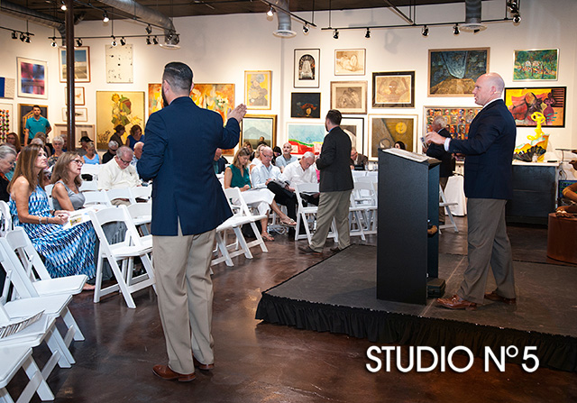 Art Gallery Auction - Event photography