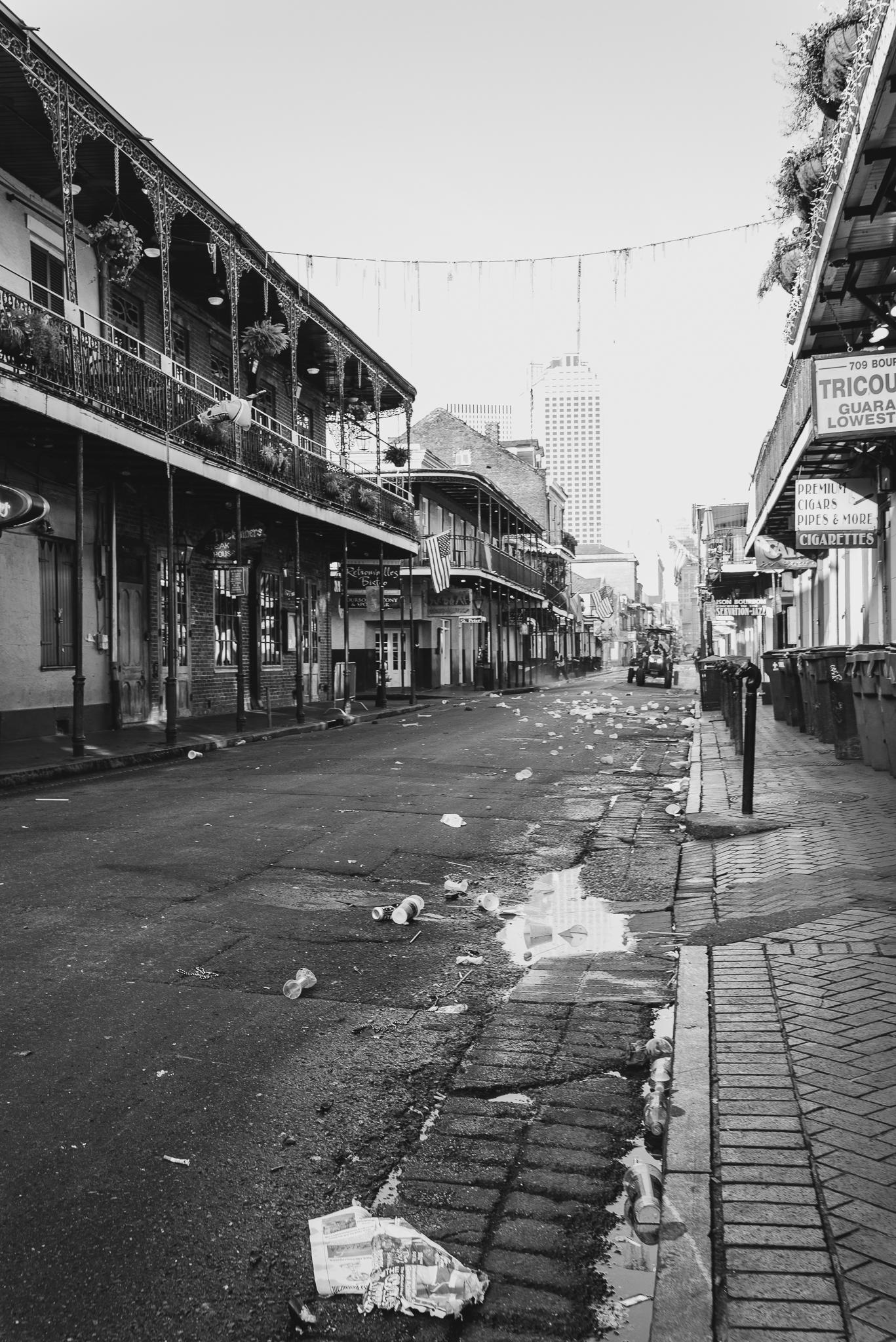 Morning on Bourbon Street New Orleans