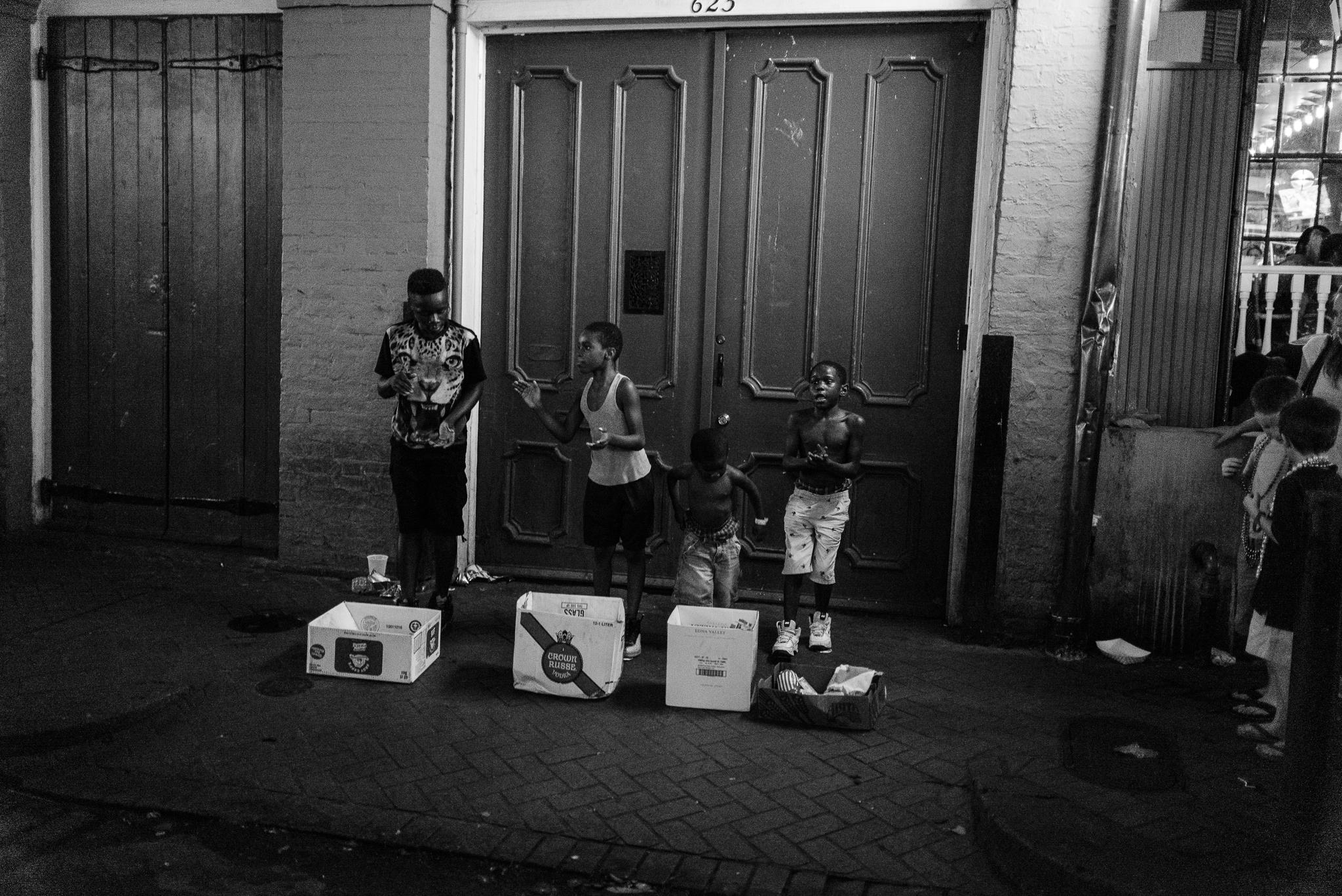 Children working for money