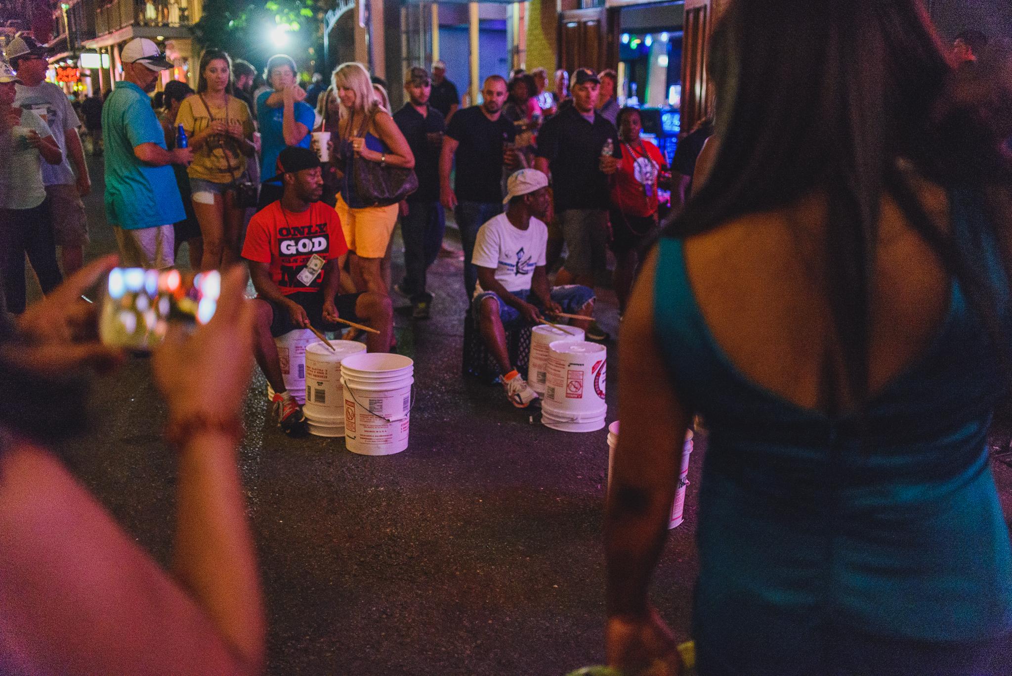 Bourbon Street Drummers