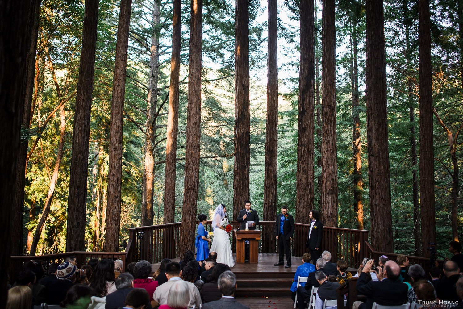 Amphitheatre of the Redwoods at Pema Osel Ling Wedding