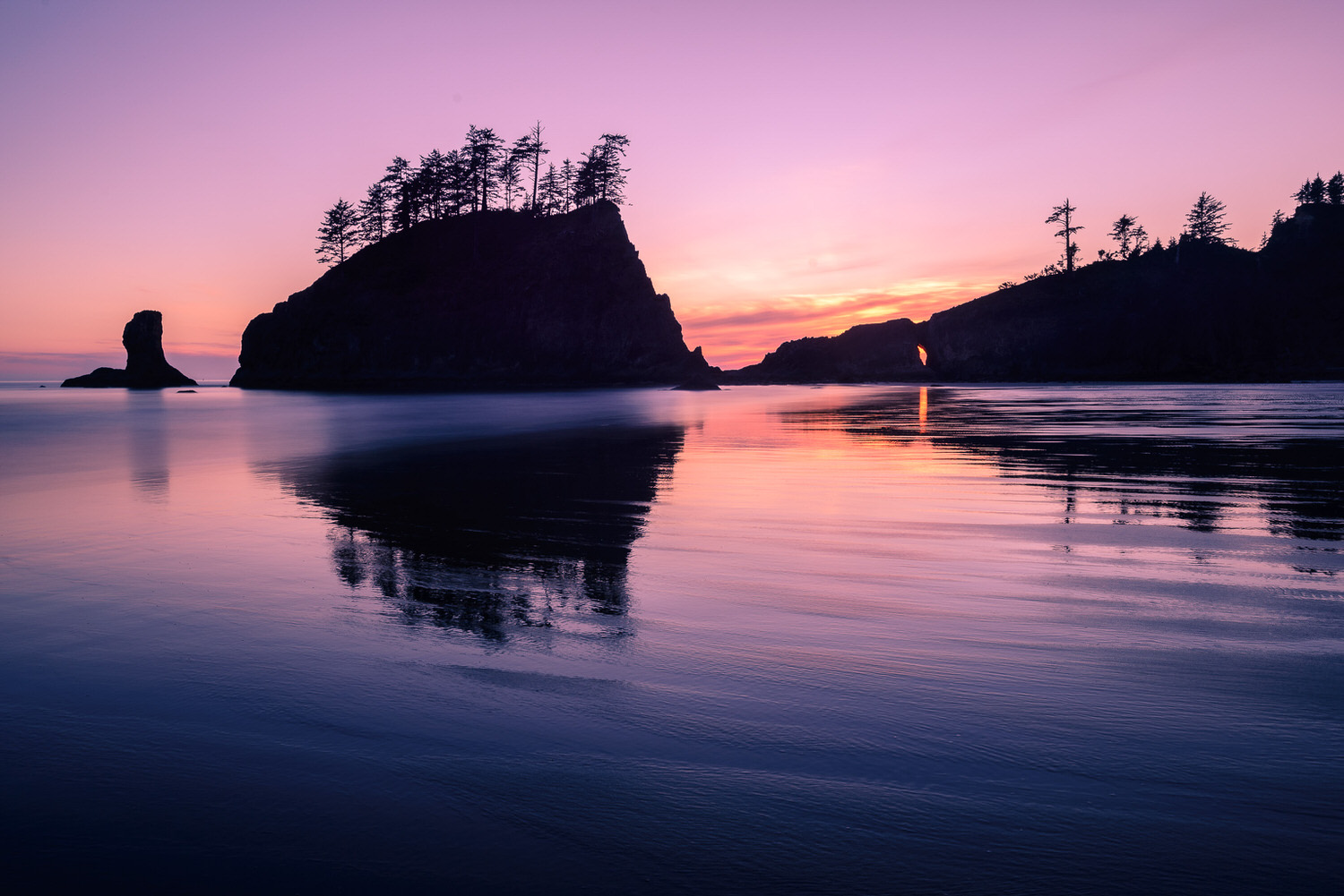 Colorful Sunset Skies La Push