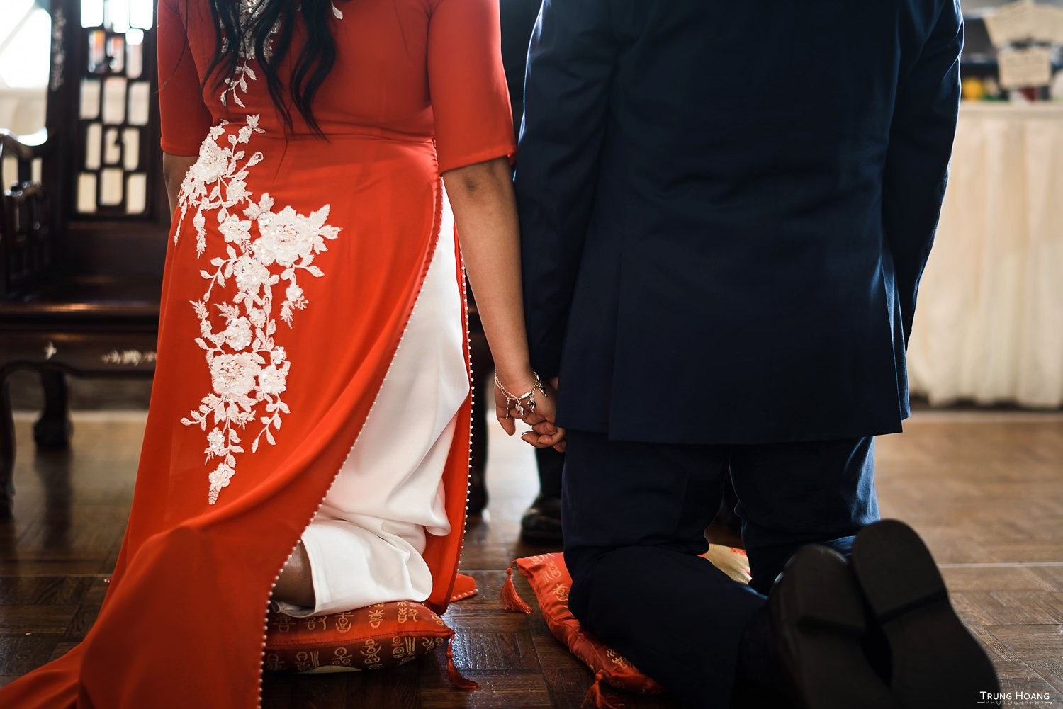 Couple holding hands Photojournalistic Wedding Photography