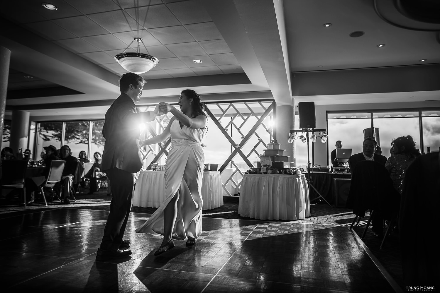 Dramatic First Dance Wedding Photography East Bay