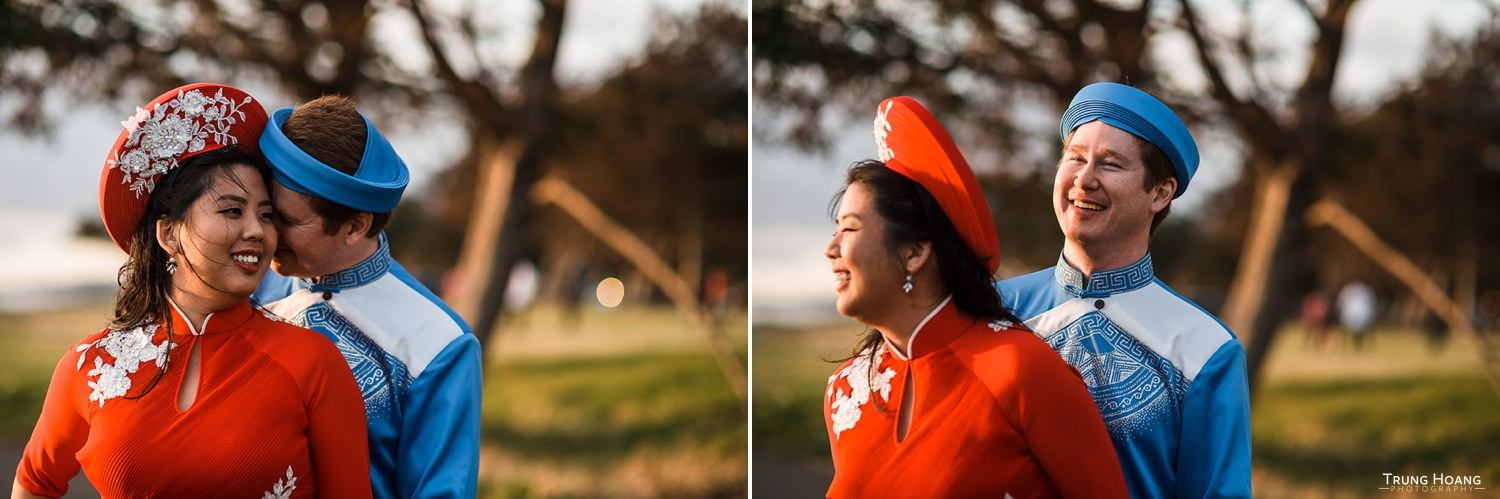 Vietnamese Ao Dai Wedding Photographer San Francisco