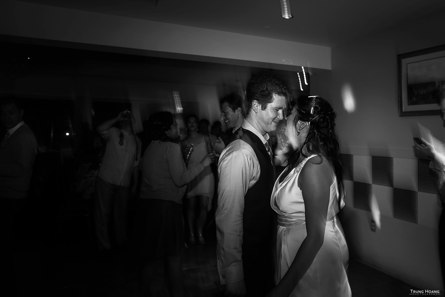 Bride and Groom Dance Floor Photo