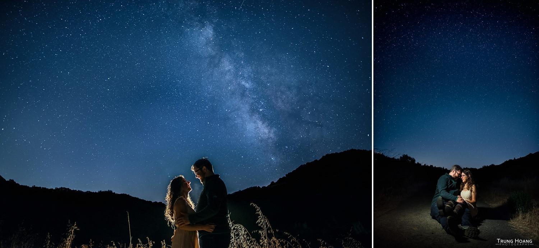 Milky Way Couples Portrait