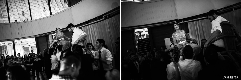 Jewish Wedding Hora Photo