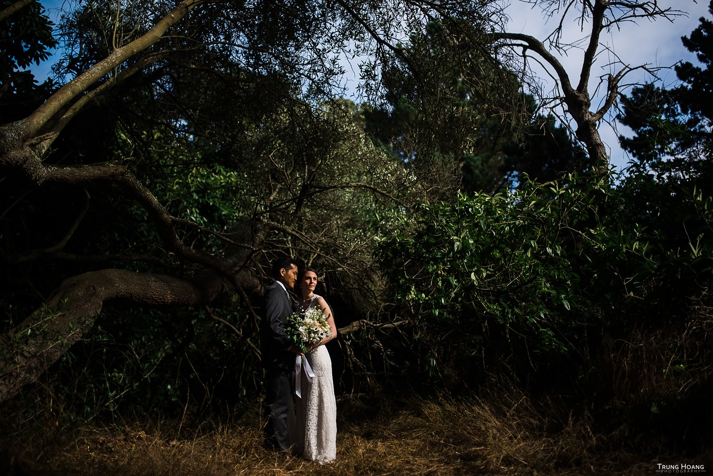 Golden Gate Park Shakespeare Garden Wedding San Francisco Photographer