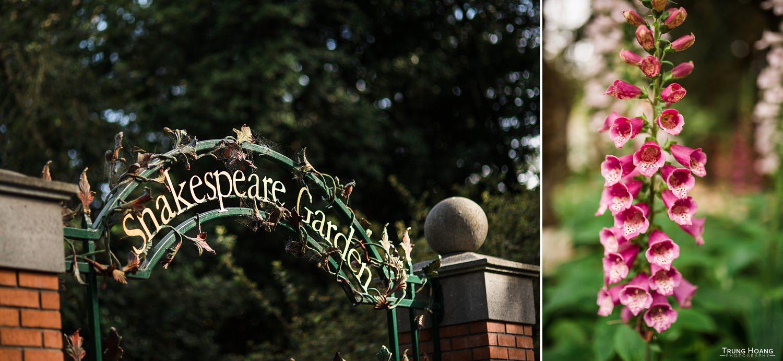 Shakespeare's Garden Wedding