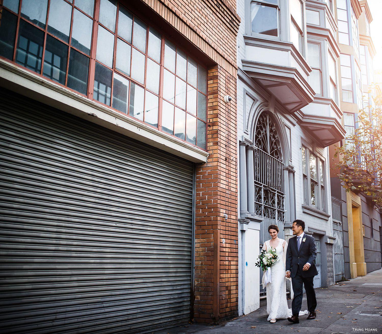 San Francisco Mission Bowling Club Wedding Couples Photos