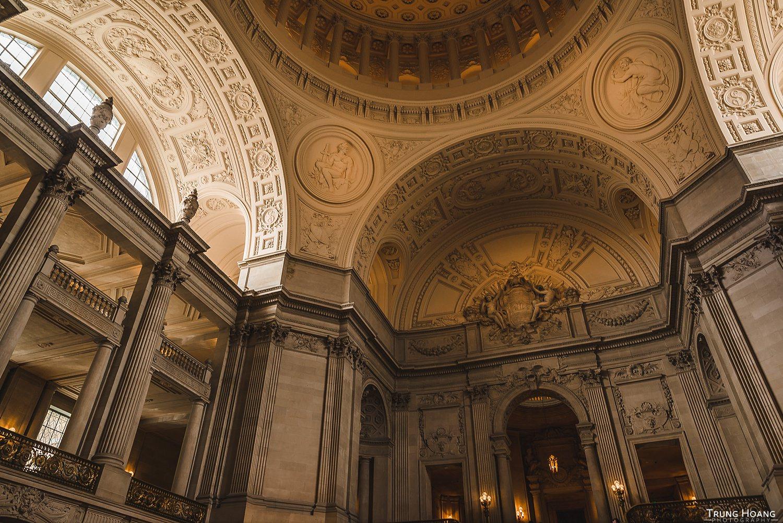Inside San Francisco City Hall