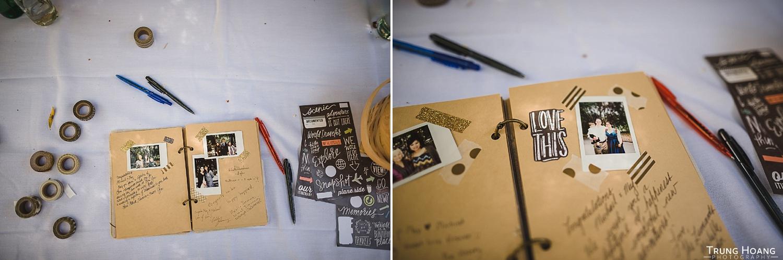 DIY Instax wedding guest book