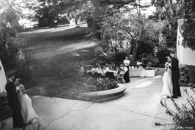 Abstract wedding photograph