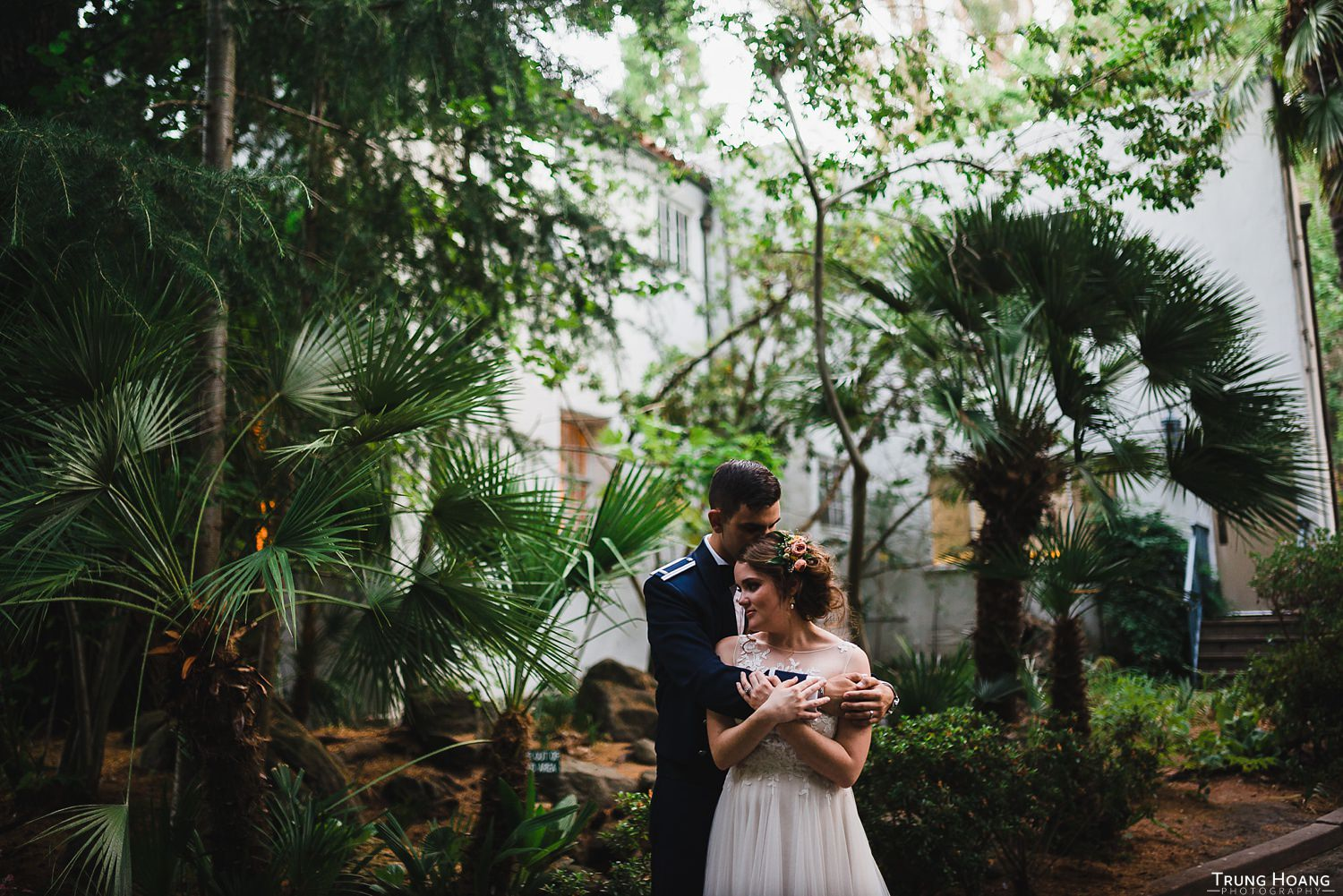 Tropical wedding photography