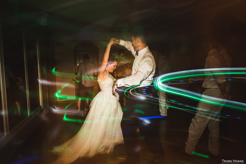 Shutter drag dancing photos