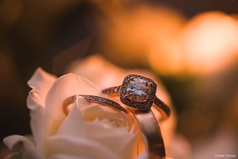 Wedding Ring Macro