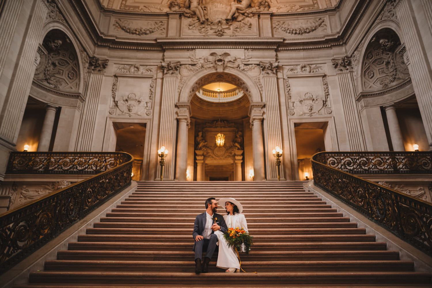 Great San Francisco City Hall Wedding Photographer