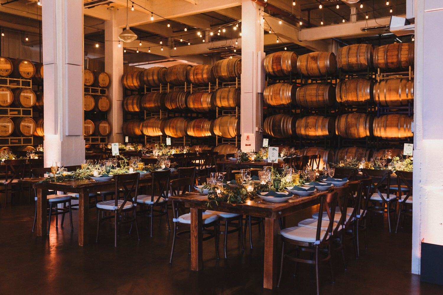 Dogpatch Wineworks Wedding Reception