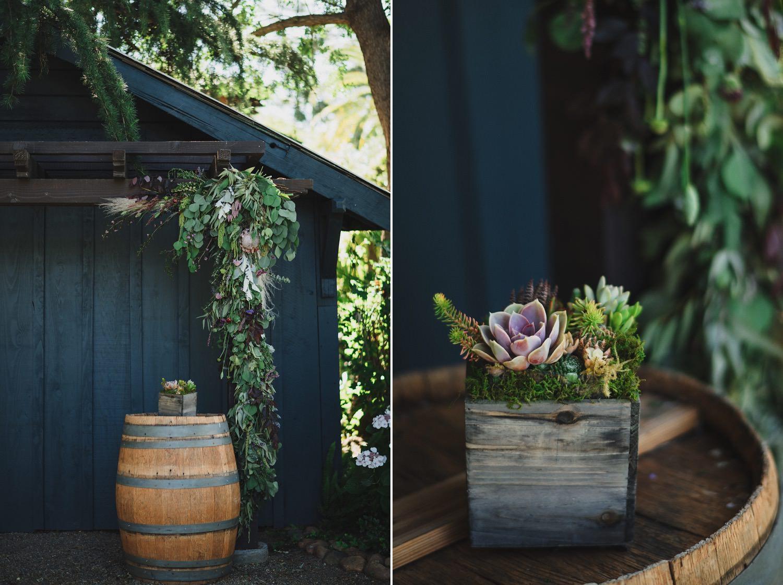 Succulent Wedding Florals