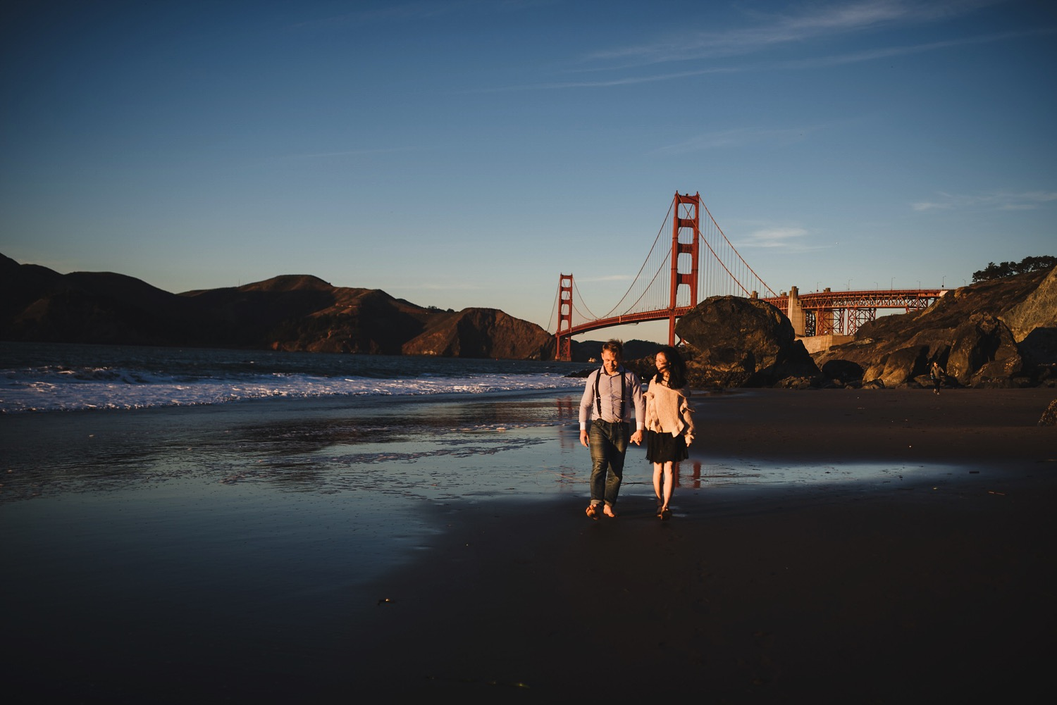 Golden Gate Bridge Beach Pictures