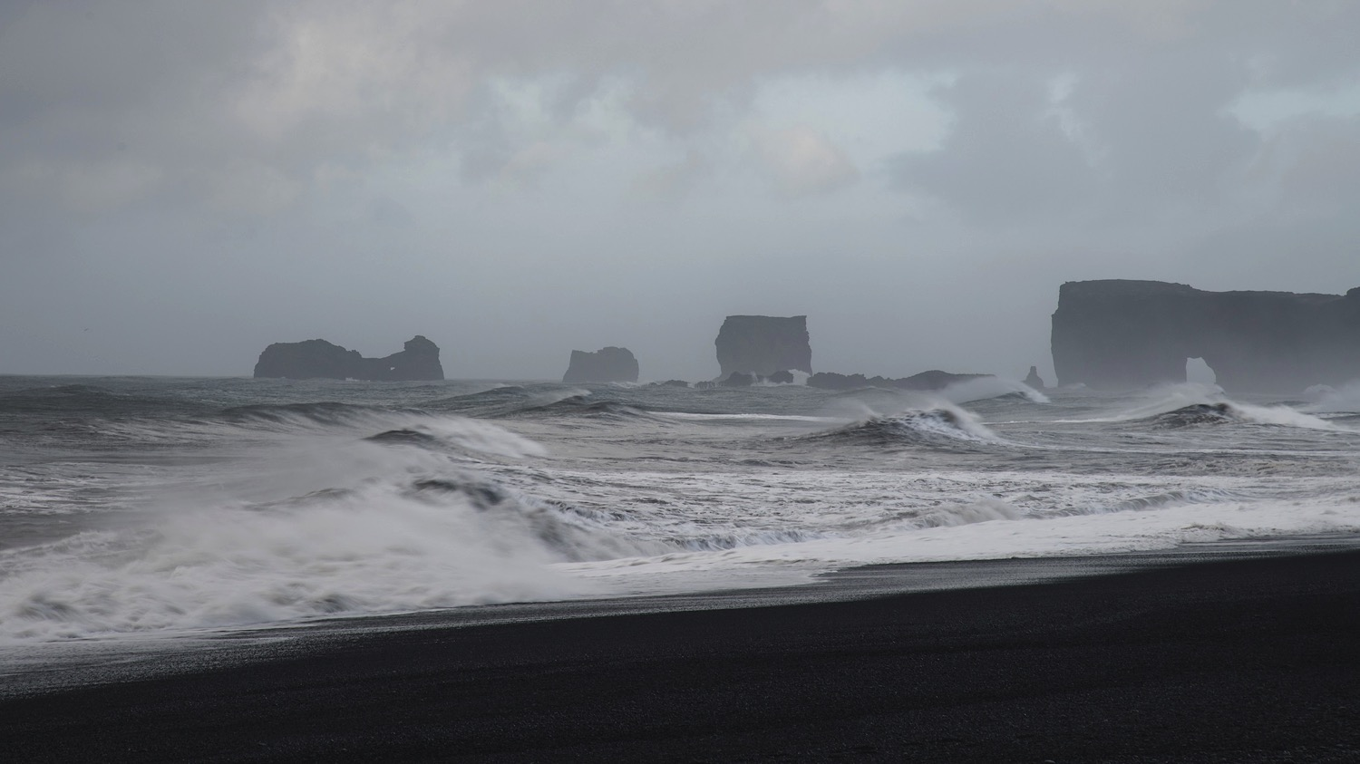 Reynisfjara Beach Current