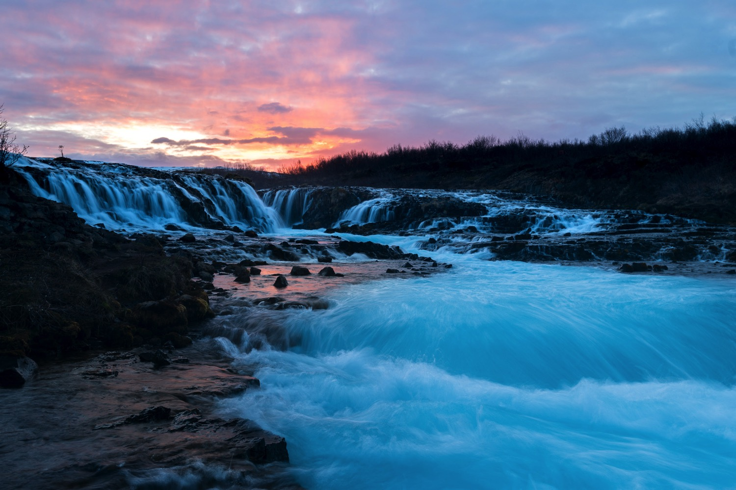 Bruarfoss Sunset - Iceland Blog Part II