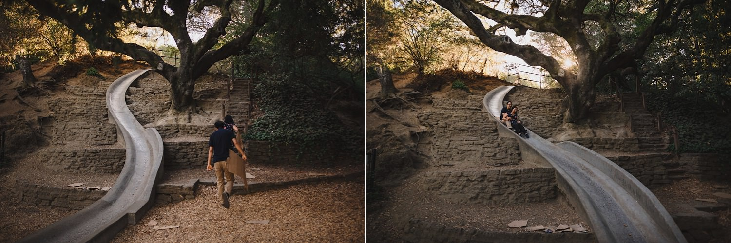 Codornices Park Engagement Photos