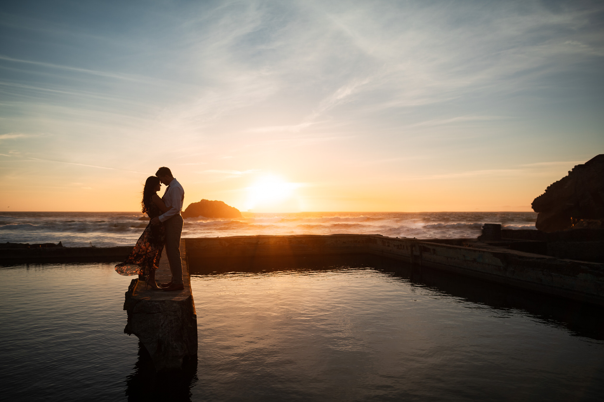 Sutro Baths Engagement Photos // Bay Area Wedding Photographer