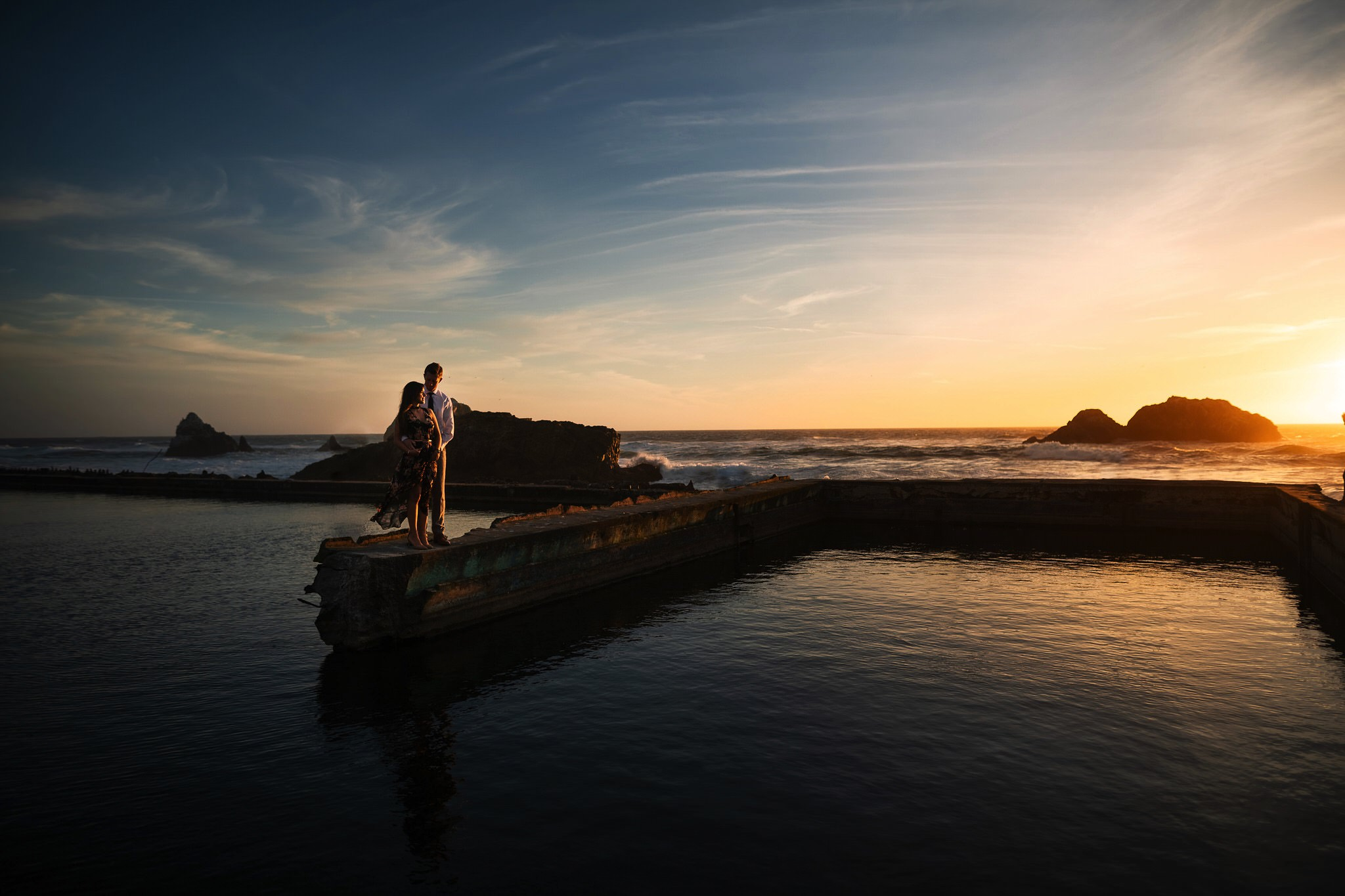 Sutro Baths Engagement Session // Bay Area Wedding Photographer