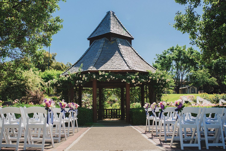 Garden at Heather Farms Wedding
