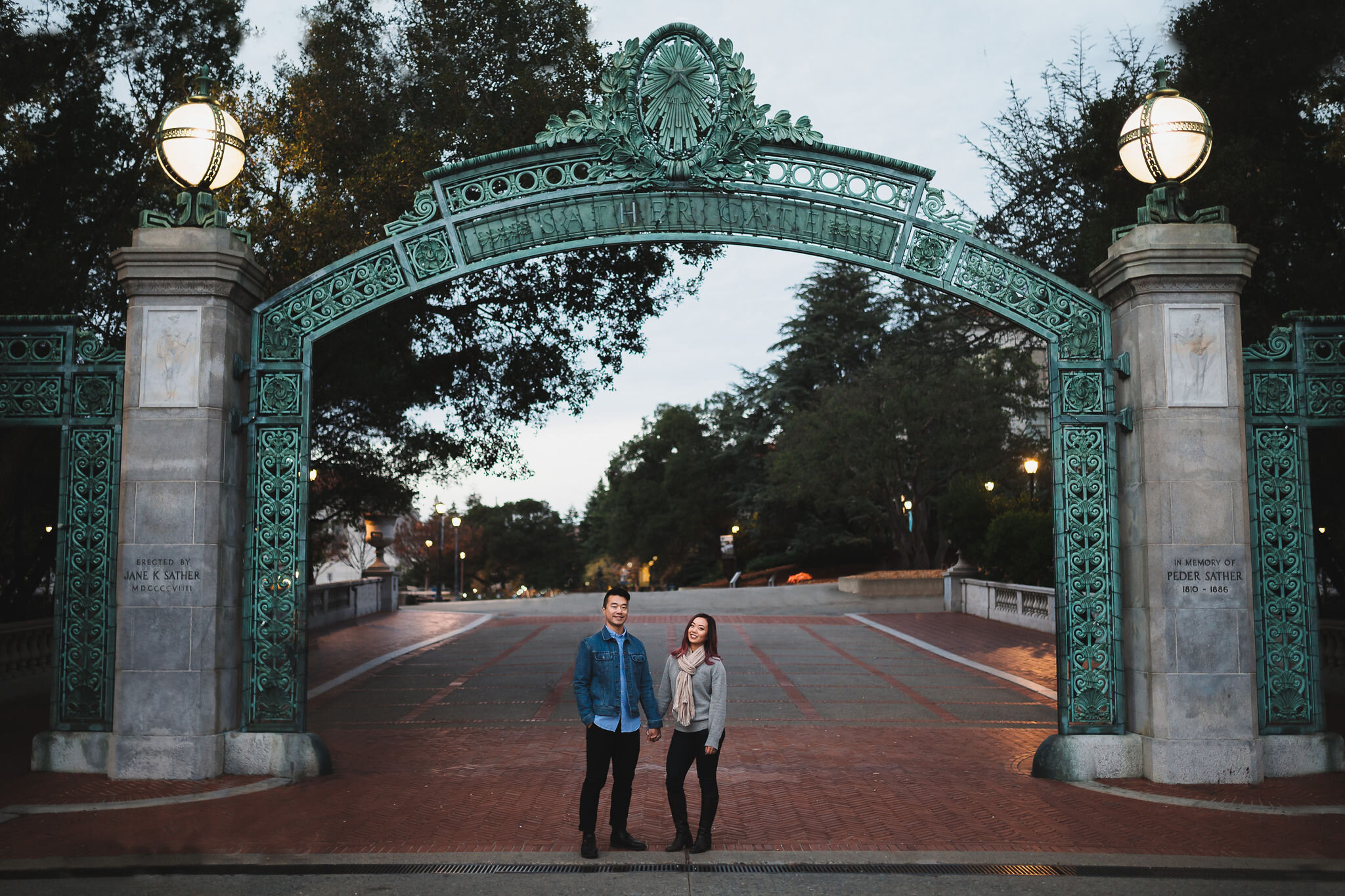UC Berkeley Engagement Session // Bay Area Wedding Photographer  Photo by Trung Hoang Photography |www.trunghoangphotography.com | San Francisco Bay Area Wedding Photographer