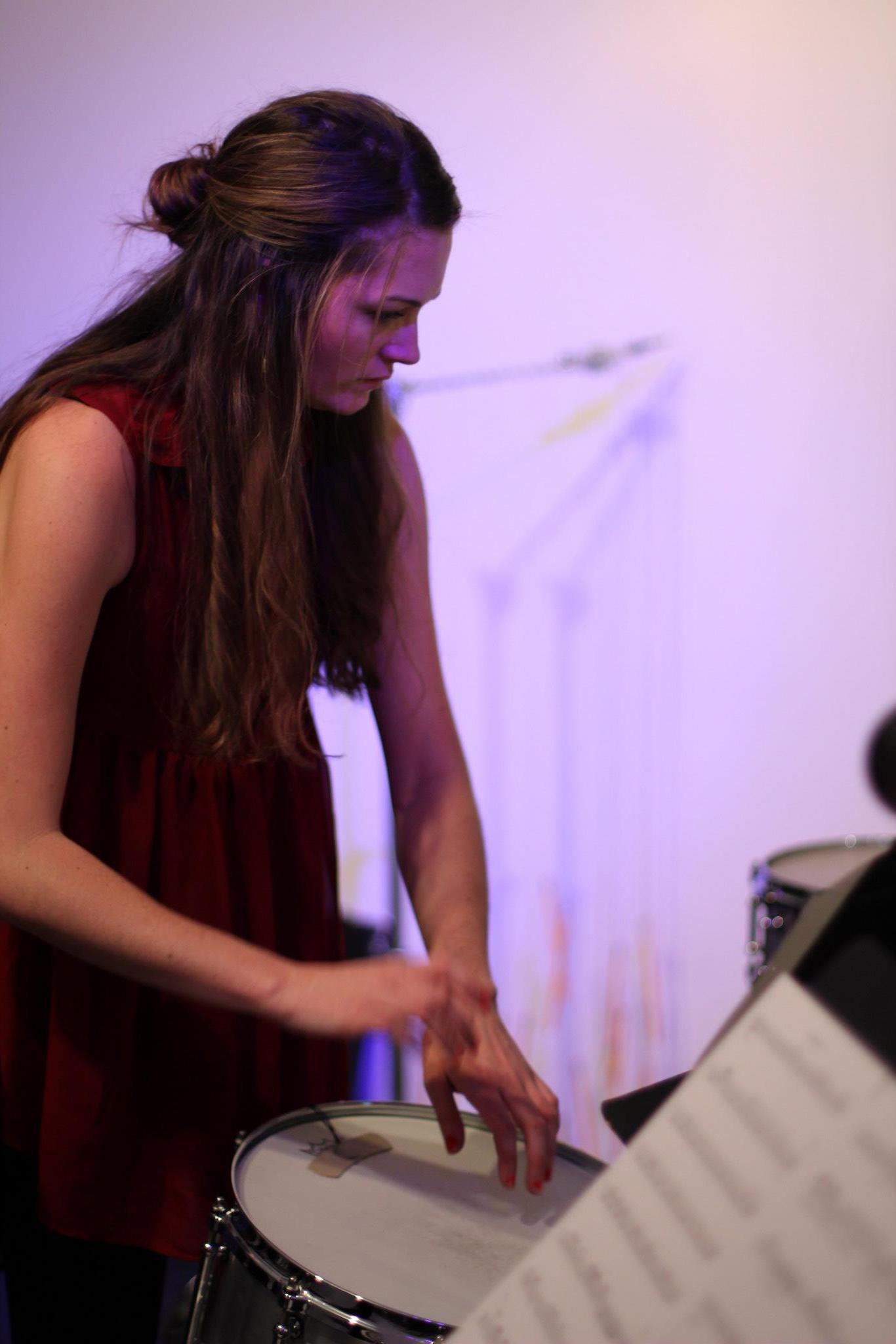 percussionist McKenzie Camp