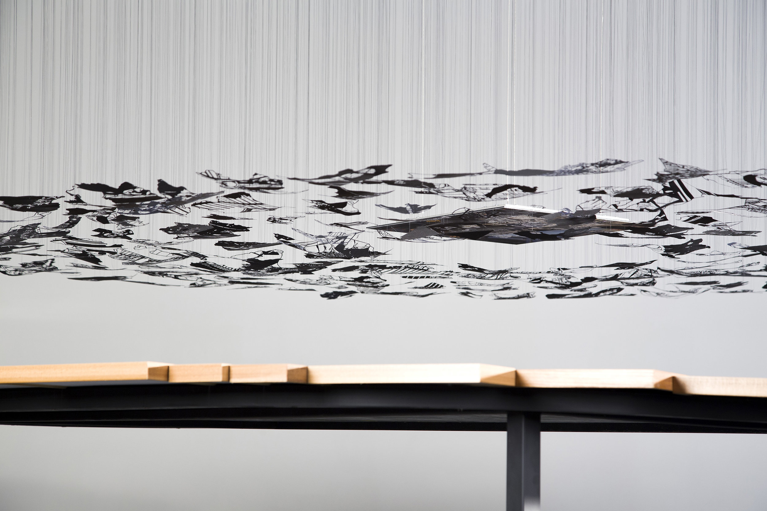 Copy of installation view