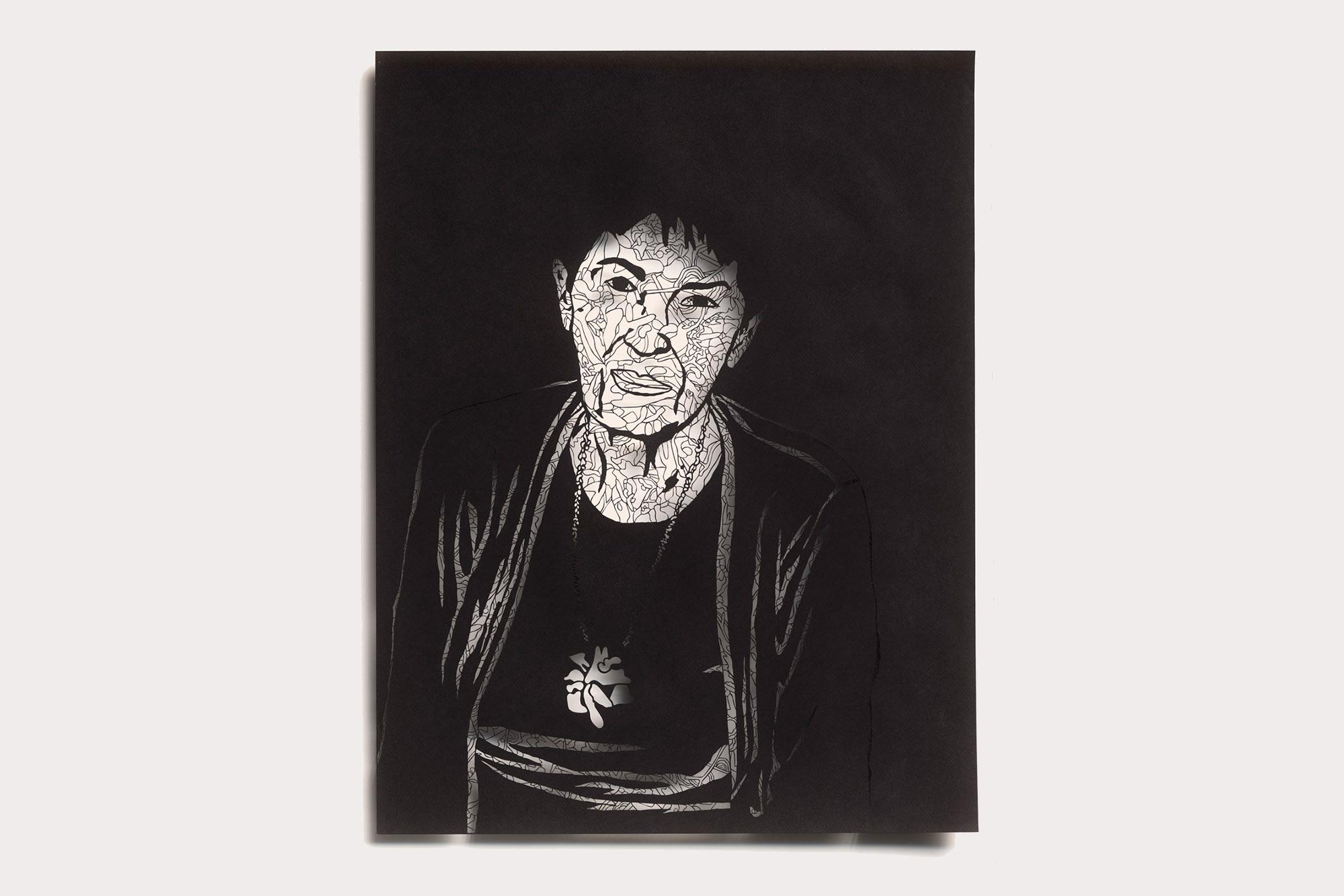 Portrait of Safta lea